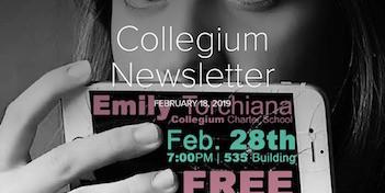 February 18 Newsletter