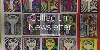 February 26 Newsletter