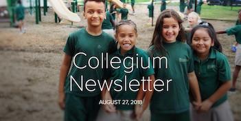 August 27 Newsletter