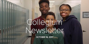 October 16 Newsletter