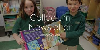 January 29 Newsletter