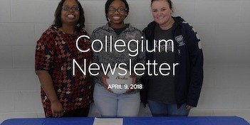 April 9 Newsletter
