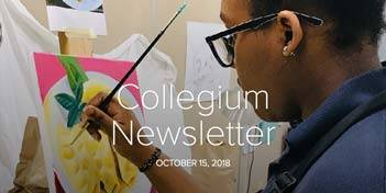 October 15 Newsletter
