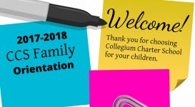 2017-2018 New Family Orientation